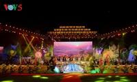 Pembukaan Festival kesenian nasional nyanyian lagu rakyat Then dan siter Tinh dan pengumuman Perancangan zona pariwisata nasional Geopark daerah tinggi karst Dong Van, Provinsi Ha Giang