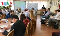Konferensi ilmiah kenyataan tentang masalah-masalah panas dari fakultas Vietnamologi diadakan di Rusia