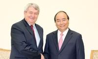 PM Viet Nam, Ngyen Xuan Phuc menerima Wakil Ketua Majelis Rendah Republik Czech