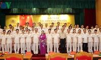 Meningkatkan kualitas gerakan kompetisi patriotik dalam pasukan keamanan publik rakyat