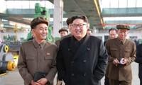 Pemimpin RDRK melakukan inspeksi di daerah perbatasan dengan Tiongkok