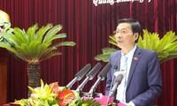 Provinsi Quang Ninh melakukan dialog untuk mengatasi  kesulitan bagi badan-badan usaha