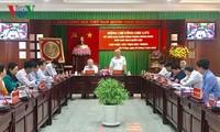 Wakil Ketua MN Vietnam, Uong Chu Luu melakukan kunjungan kerja di Provinsi Soc Trang