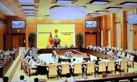 Penutupan persidangan ke-25 Komite Tetap MN Vietnam