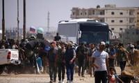 Suriah: Kaum pembangkang di Daraa menggelarkan permufakatan dengan pemerintahan