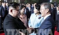 Republik Korea dan RDRK memulihkan secara total lini  hubungan militer di sebelah Barat