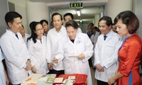 Ketua MN Vietnam, Ibu Nguyen Thi Kim Ngan melakukan kunjungan  kerja di Pusat Arsip Nasional III