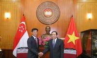 Mendorong perkembangan hubungan Vietnam-Singapura