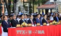 Upacara memperingati ultah ke-130 Hari Lahirnya Presiden Ton Duc Thang