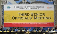 Konferensi Para Pejabat Senior APEC yang ke-3 tahun 2018 terus mendorong kerjasama dan konektivitas ekonomi di kawasan