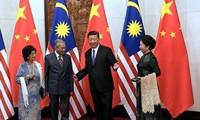 Tiongkok dan Malaysia memperkuat kerjasama di banyak bidang