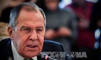 Moskow menuduh Inggris sengaja memaksakan kebijakan-kebijakan permusuhan tentang Rusia terhadap Uni Eropa dan AS
