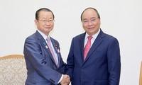PM Vietnam, Nguyen Xuan Phuc menginginkan agar Vietnam dan Jepang memperkuat kerjasama ekonomi