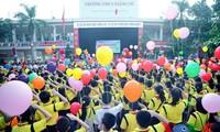 Lebih dari 23 juta pelajar dan mahasiwa menghadiri upacara pembukaan tahun ajar baru 2018-2019