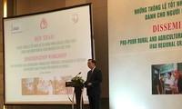 Menggelarkan produk dan jasa di bidang keuangan pertanian dan pedesaan untuk kaum miskin di Vietnam