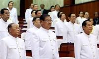 Parlemen Kamboja memberikan suara kepercayaan terhadap Samdech Techo Hun Sen untuk menjadi PM Kamboja