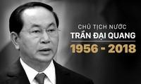 Media internasional secara serempak memberikan dan menyampaikan belasungkawa atas wafatnya Presiden Vietnam, Tran Dai Quang