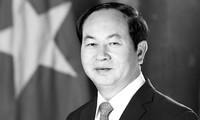 Pimpinan negara-negara terus mengirim tilgram belasungkawa kepada pimpinan Partai, Negara, Pemerintah, rakyat Vietnam serta keluarga Presiden Tran Dai Quang