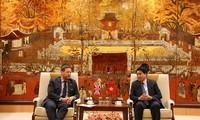 Kota Ha Noi memperkuat kerjasama dengan Kerajaan Inggris Raya di banyak bidang