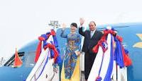 PM Vietnam, Nguyen Xuan Phuc berangkat menghadiri KTT Kerjasama Mekong-Jepang ke-10 dan mengunjungi Jepang