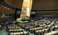 Vietnam ikut serta pada semua sidang Komisi Hukum dan Komisi Masalah-Masalah Ekonomi dan Keuangan MU PBB angkatan ke-73