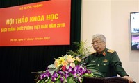 Lokakarya ilmiah tentang Buku Putih Pertahanan Vietnam tahun 2018