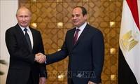 Mesir dan Rusia menjadi mitra komprehensif
