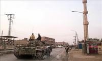 Tentara Suriah menggelarkan lagi banyak senjata berat  untuk menyiapkan operasi di Idlib