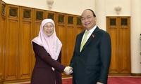 Vietnam dan Malaysia berupaya mencapai 15 miliar USD per tahun pada tahun 2020