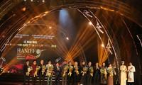 Upacara pembukaan Festival Film Internasional Kota Ha Noi kali ke-5