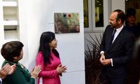 PM Perancis menghadiri upacara  peresmian Pusat Kesehatan Perancis di Kota Ho Chi Minh