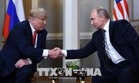 Presiden Rusia dan AS akan mengadakan pertemuan pendek di Perancis