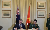 Vietnam-Australia menandatangani Pernyataan Visi Bersama tentang pendorongan kerjasama pertahanan