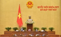 Pekan kerja ke-4 persidangan ke-6 MN Vietnam, angkatan XIV