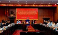 Ketua MN Vietnam, Nguyen Thi Kim Ngan melakukan kunjungan kerja di Provinsi Thai Binh