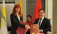 Vietnam dan Kawasan Wallonie-Brussels (Belgia) menandatangani 25 proyek kerjasama