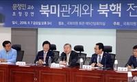 Republik Korea menyarankan cara mengatasi kemacetan dalam perundingan-perundingan nuklir