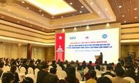 Kepala Departemen Penggerakan Massa Rakyat KS PKV, Truong Thi Mai menghadiri Konferensi percepatan  aktivitas kemanusiaan