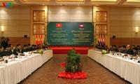 Memperkuat kerjasama menjaga garis perbatasan antara Markas Komando Tentara Perbatasan Vietnam dan Markas Komando Angkatan Darat Kamboja