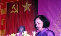 Sidang Pleno ke-5 Pengurus Besar Federasi Perempuan Vietnam