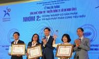 Kota Ho Chi Minh: Memberikan penghargaan kepada 6 kelompok yang menerapkan teknologi informasi dalam membangun perkotaan pintar