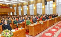Konferensi Nasional ke-74 Pasukan Keamanan Publik diadakan di Kota Hanoi