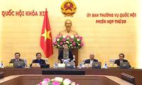 Persidangan ke-30 Komite Tetap MN Vietnam, angkatan XIV akan dilangsungkan