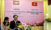 Vietnam dan Kamboja berbagi pengalaman tentang pekerjaan di kalangan  agama