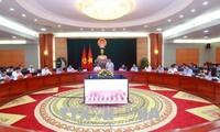 Deputi PM Vietnam, Vuong Dinh Hue melakukan kunjungan kerja di Kota Hai Phong