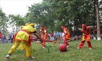 Aktivitas-aktivitas kebudayaan menyambut Musim Semi di daerah-daerah