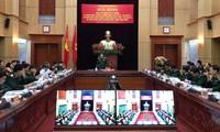 Pembukaan upacara peringatan HUT ke-60 Hari Tentara Prajurit Perbatasan Vietnam