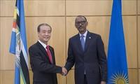 Republik Rwanda ingin lebih mendorong hubungan kerjasama dengan Viet Nam