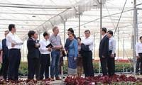 Delegasi tingkat tinggi Parlemen Laos melakukan kunjungan kerja di Provinsi Lam Dong
