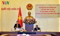 Konferensi Gabungan antara Komite Tetap MN Vietnam dan Presidium Pengurus Besar Front Tanah Air Vietnam